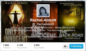 Rachel's Twitter Page!