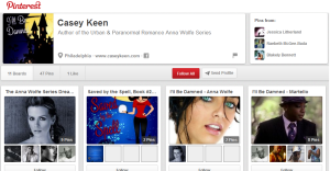 Casey Keen Pinterest Page