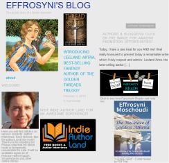 Effrosyni Moschoudi Blog