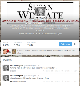 Susan's Twitter Page!