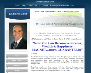 Dr. Hank Seitz's Website