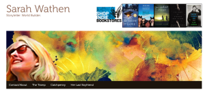Sarah Wathen's Website! Storyteller. World Builder.